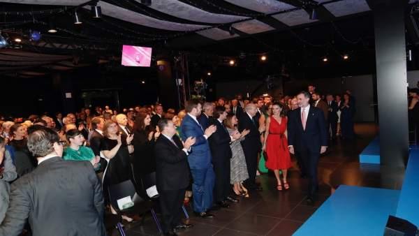 Los Reyes en los Premios FPdGi 2018