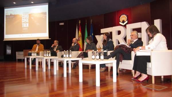 Córdoba.- Agentes logísticos debaten las posibilidades del tren como transporte