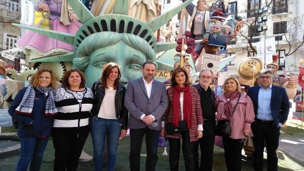 28A.-Ábalos: 'Los Avances Sociales Recuperados En La Comunitat Están En Riesgo C