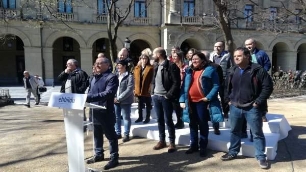 26M.- Izagirre (EH Bildu) Apuesta Por 'Mejorar' Gipuzkoa Frente A La 'Negación D