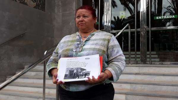Almería.-26M.-IU denuncia ante la JEP el uso de perfiles sociales del alcalde y