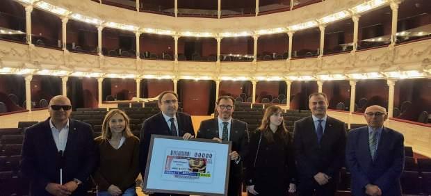 El teatro Principal de Palencia será la imagen de 5,5 millones de cuponer de la