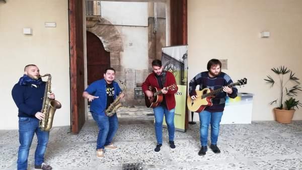 El grupo mallorquín 'Saxophobia Funk Project' ofrece su primera gira internacion