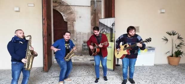 El grupo mallorquín 'Saxophobia Funk Project' ofrece su primera gira internacional en Japón