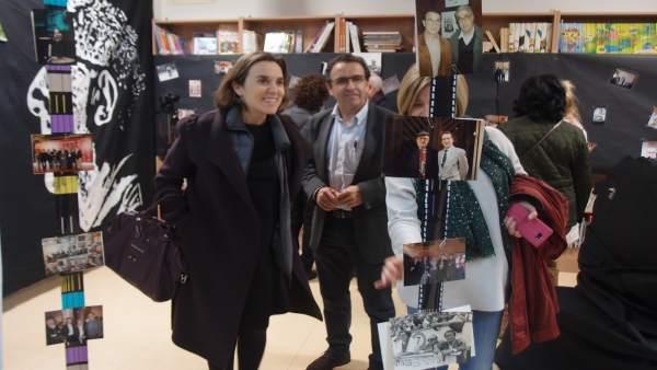 Alumnos del colegio Rey Pastor elaboran una exposición sobre Rafael Azcona
