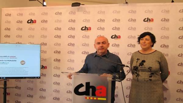 26M.- CHA Anima A Los Ciudadanos A Presentar Sus Propuestas En Una Web Para Conf