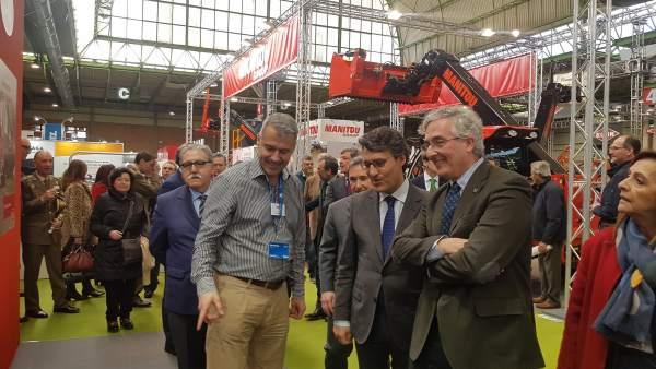 FeriaZaragoza.- El consejero de Desarrollo Rural señala que Aragón es una potenc