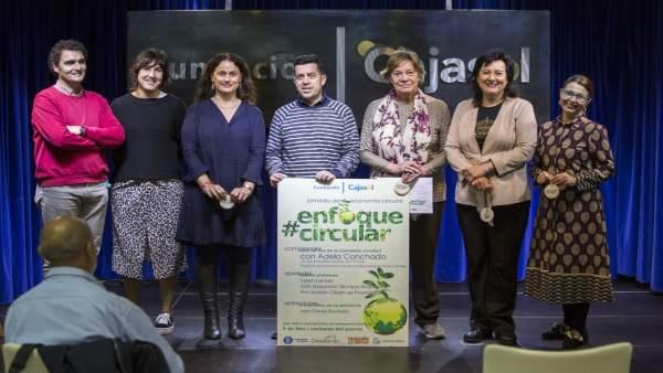 Huelva.- Cajasol.- Lorenzo Sicilia y María del Carmen Trujillo, ganadores del I