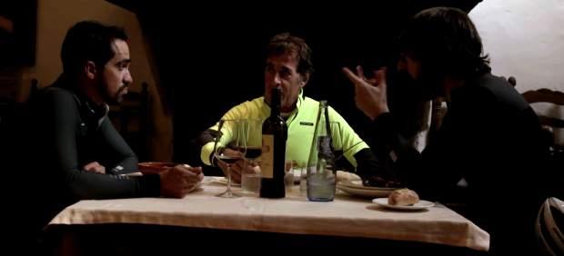 Alberto Contador y Pedro Delgado