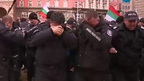 Policía búlgara