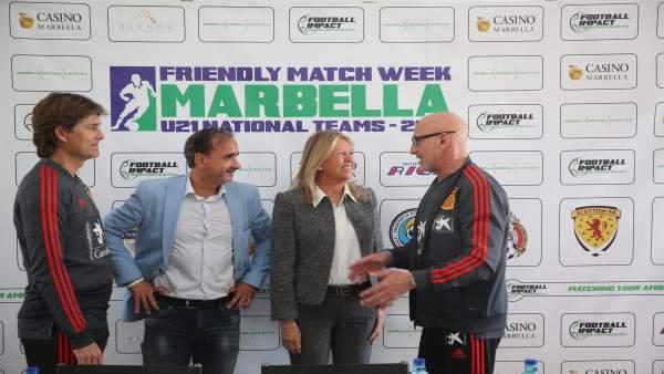 Málaga.-Alcaldesa de Marbella valora que la selección española de fútbol Sub-21