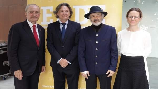 Málaga.- Nace la Cátedra Jorge Rando para fomentar el estudio de la cultura desd
