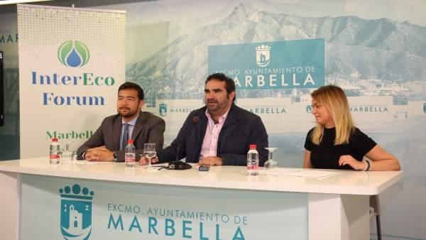 Málaga.- Marbella acogerá el VIII InterEcoForum, que abordará el tema 'Agua para