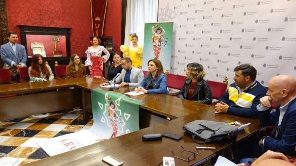 Granada.- El Palacio de los Córdova acoge la segunda pasarela flamenca a finales
