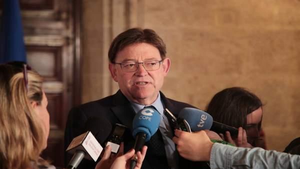 Puig pide prudencia a García-Paje porque 'no hay nada que diga que el trasvase T