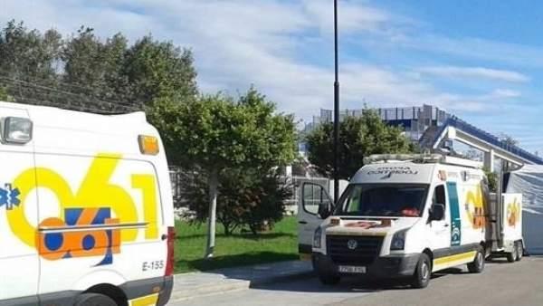 Málaga.- Sucesos.- Herido un trabajador de 36 años tras caerse de un andamio de