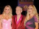 Hugh Hefner con sus 'conejitas'