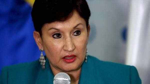 Exfiscal general y aspirante a la presidencia de Guatemala Thelma Aldana