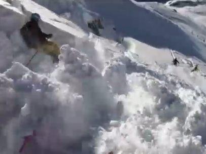 Alud en los Alpes austriacos
