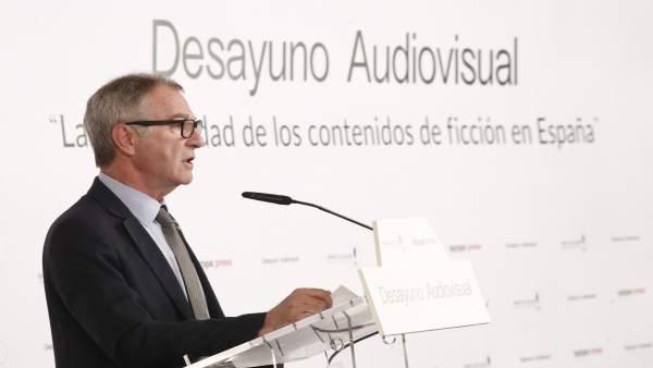 Desayuno Audiovisual de Europa Press 'La oportunidad de los contenidos de ficció