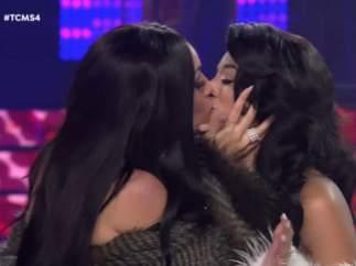 Su actuación en Tu cara me suena terminó con un beso