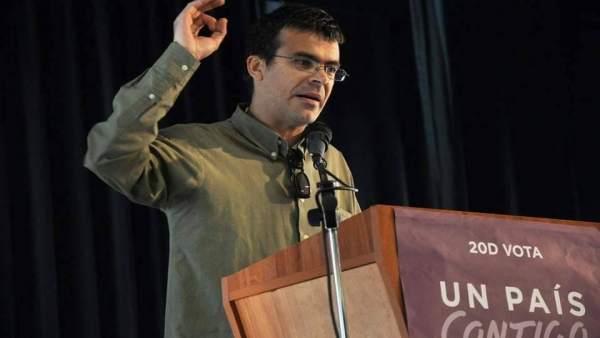 Granada.- 28A.- Pedro Honrubia encabezará la lista de Unidas Podemos por la prov