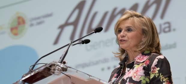 Jaén.- María Luisa del Moral presenta su renuncia al cargo de vicerrectora de Es