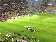 Valladolid.- Estadio José Zorrilla, partido Real Valladolid-Barcelona