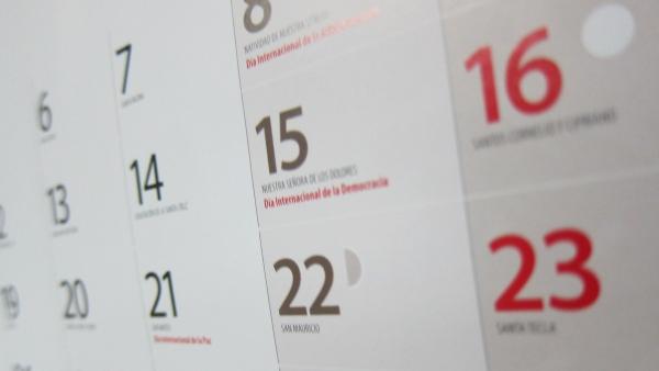 Calendario Loteria Nacional 2020.El Gobierno Regional Aprueba El Calendario Laboral Para 2020