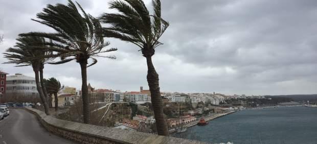 Olas en Menorca