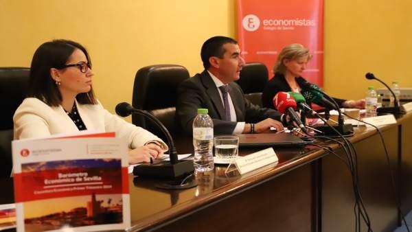 Sevilla.-La economía crecerá un 2,4% y el empleo, un 2,4% en 2019, según el baró