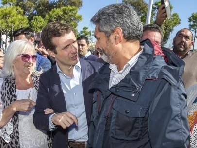 Pablo Casado y Juan José Cortés