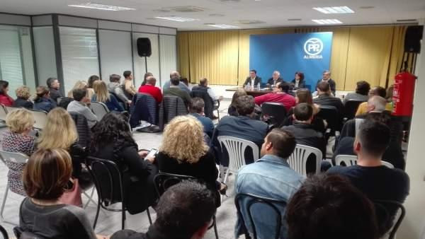 Almería.-28A.-Amat reclama concentrar el voto de centro derecha en el PP para ac
