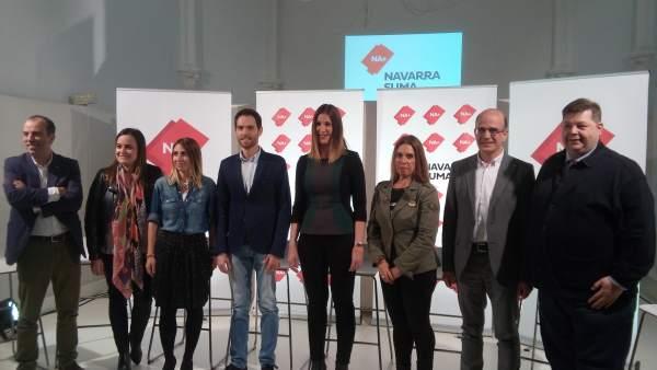 Navarra Suma se presenta al Congreso y el Senado con el objetivo de ser una 'mur