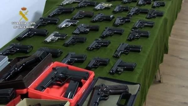 Murcia, segunda provincia con más licencias de armas cortas