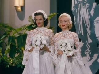 Marilyn Monroe ('Los caballeros las prefieren rubias', 1953)