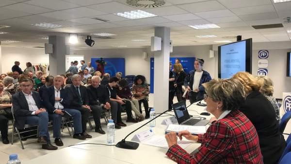 Beamonte sostiene que ante el terrorismo 'no caben posiciones fingidas' y subray