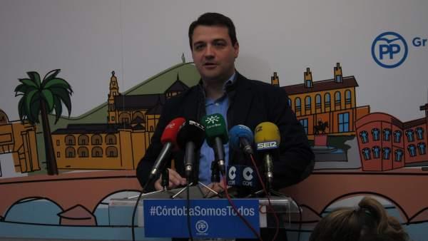 Córdoba.- 26M.- Bellido (PP) promete una reforma de la Gerencia de Urbanismo que