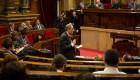 El Síndic pide a Quim Torra que retire los lazos