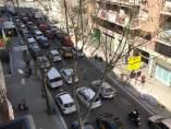 Imagen de la calle Independencia con cuatro carriles de circulación.