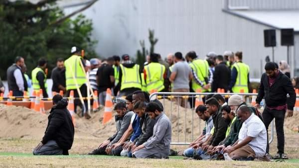Funeral tras el atentado de Nueva Zelanda