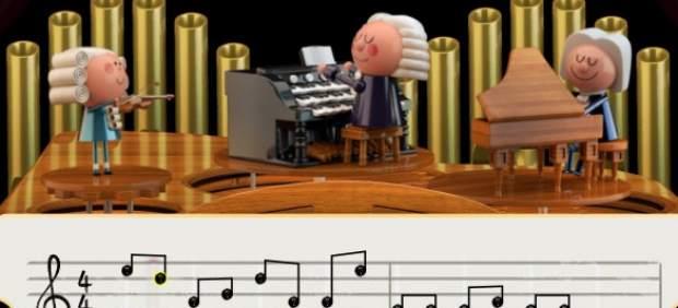 Google usa la Inteligencia Artificial y un doodle para que puedas componer junto a Johann Sebastian ...
