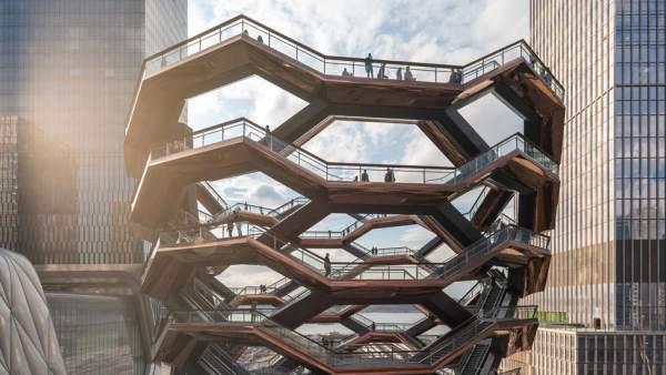 El Vessel, en Hudson Yards (Nueva York)