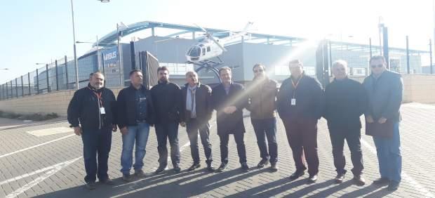 El fin de la producción del helicóptero NH90 en Airbus Albacete  'pone en serio