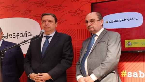 Lambán califica de 'desmanes' y 'torpezas' las acciones de los independentistas