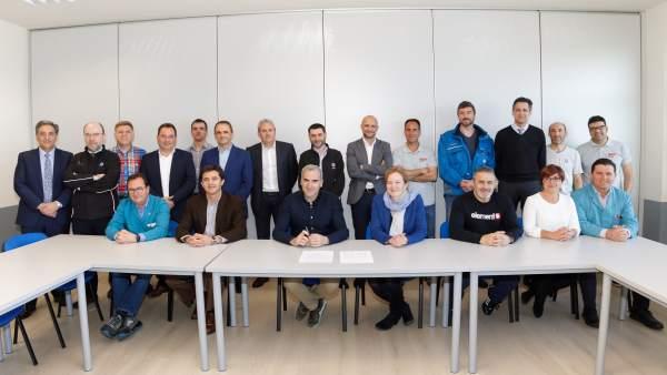 Firmado el preacuerdo del IX Convenio Colectivo de Volkswagen Navarra