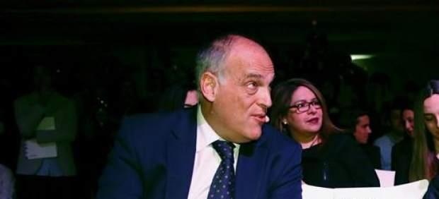 Tebas responde con dureza al periodista Juan Antonio Alcalá: