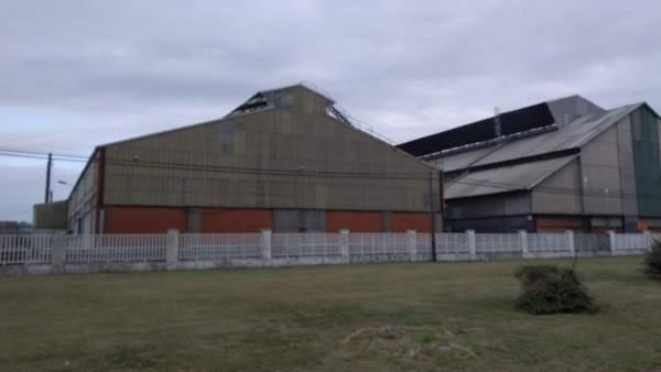 Fábrica de Alcoa en Avilés