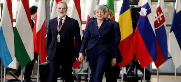 La UE acorta la prórroga del 'brexit' del 30 de junio al 22 de mayo por la negativa de Londres de ...