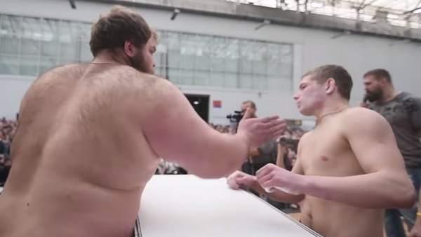 Tortazos de campeonato en Rusia